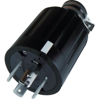 美国电机 AMERICAN DENKI 4662R  橡胶插头 接地3P60A600V