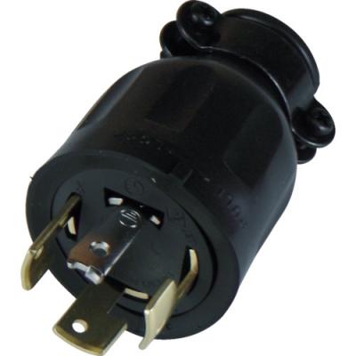 美国电机 AMERICAN DENKI 4222R  橡胶插头 接地3P20A250V