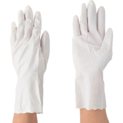 川西工业 KAWANISHI 2045W-S 柔软 手套乙烯基 薄手 白色  1P S 尺码