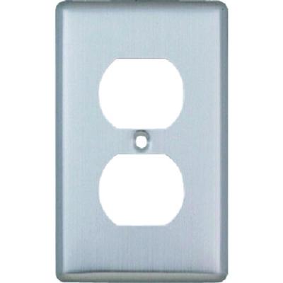 日本明公社 MEIKOSHA MF6705  連用不锈钢面板 嵌入式双插座 用